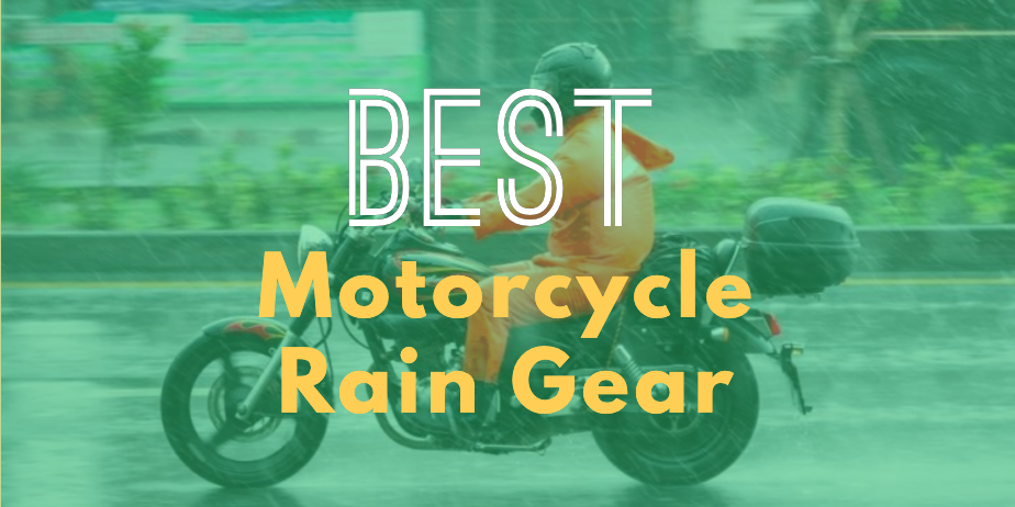 Best Motorcycle Rain Gears