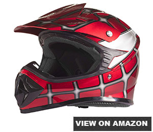Typhoon Youth Kids Offroad Gear Combo Helmet