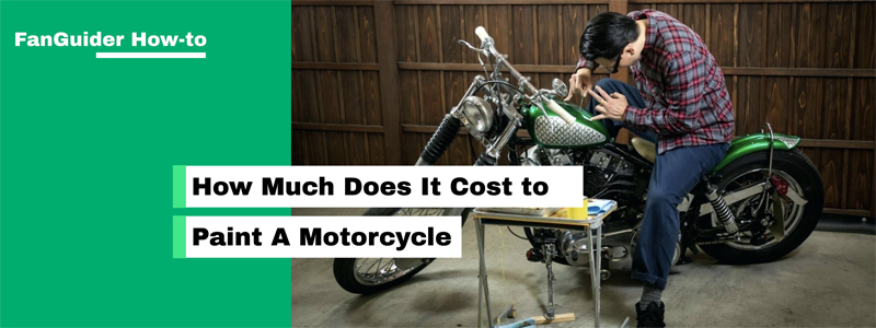 How Much Does It Cost To Paint A Motorcycle