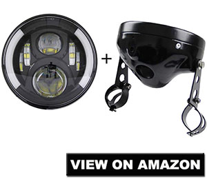 Skytants 7 inch Round LED Headlight